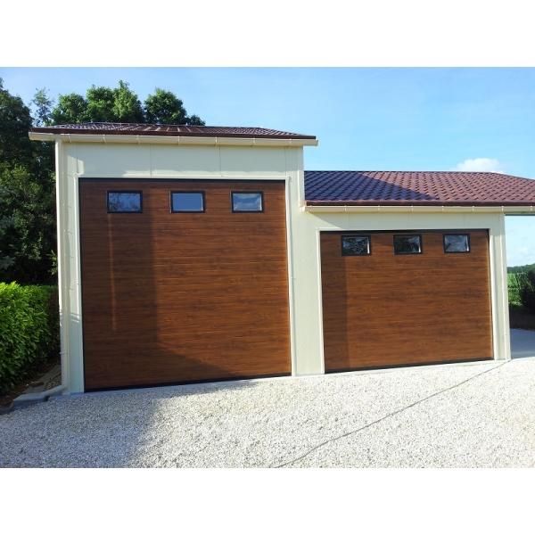 Porte De Garage Sectionnelle Sirroco