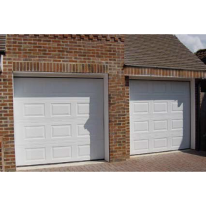 Porte de garage 3m large tableau isolant thermique for Porte sectionnelle garage 3m
