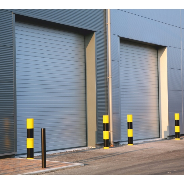 Levant porte de garage industrielle portes de garage for Hauteur minimum pour porte de garage sectionnelle