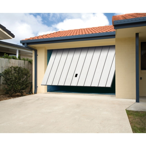 Carbas isolation 40 mm porte de garage basculante for Porte de garage basculante en aluminium