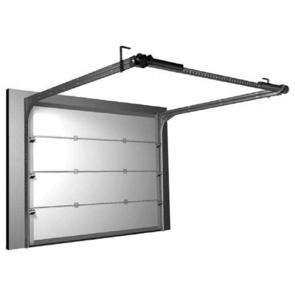 Ressorts l 39 arri re jusqu 39 3 metres de large portes de for Porte de garage en 3 metre de large