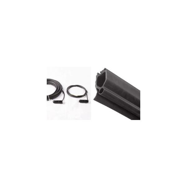 Kit securit barre palpeuse portes de garage sur mesure aamis - Barre de securite porte de garage ...