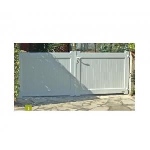Jointif - Portail PVC battant