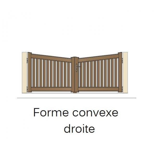 Portail coulissant garage for Portail pvc coulissant 4m