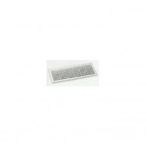 Grille de ventilation pvc avec fermeture 344 x 138 mm for Porte avec grille de ventilation