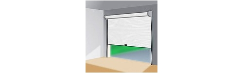 Enroulable portes de garage sur mesure aamis for Aamis porte de garage