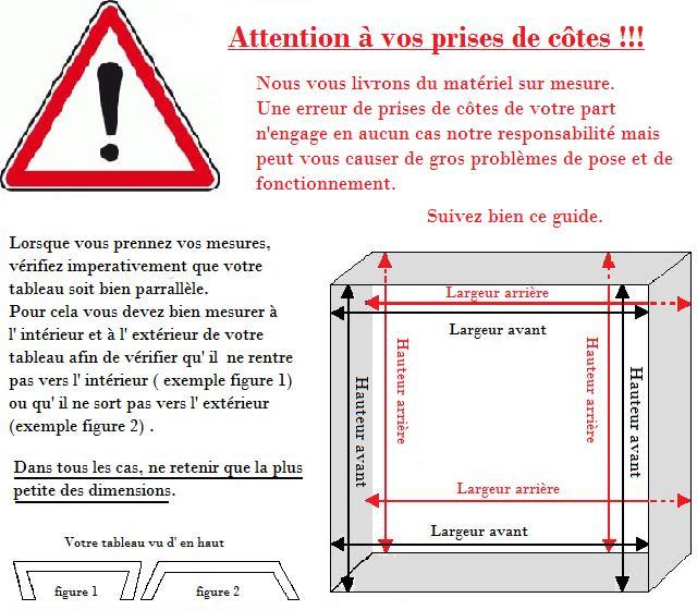 Aide à la prise de côtes  Portes de garage sur mesure  AAMIS